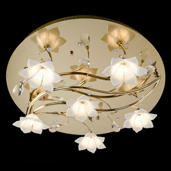 Фото: Люстра с галогеновыми лампами