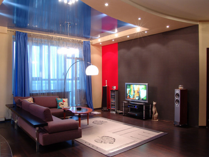 Фото: Какую поверхность выбрать в  большой комнате?
