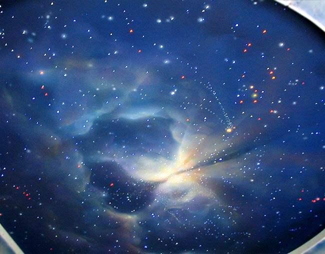 "Фото: Полотно ""Ночное небо"""