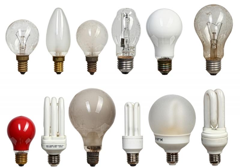 Фото: Разновидности осветительных элементов