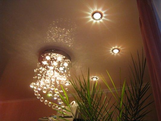 Лампочки для натяжных потолков: виды осветительных элементов и их достоинства