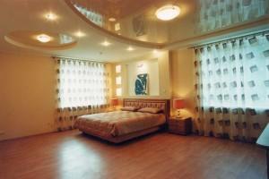 Потолки из гипсокартона в спальне — современный дизайн своими руками