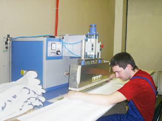 Фото: Изготовление полотен
