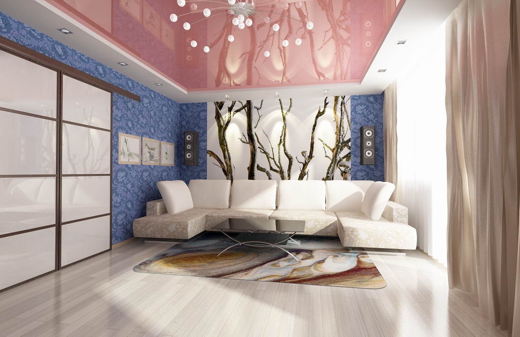 Фото: Оформление гостиной