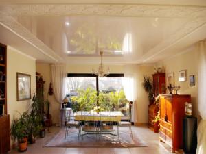 Натяжные потолки с шумоизоляцией своими руками