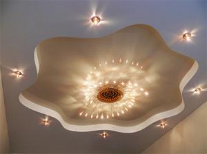 Фото: Освещение гостиной