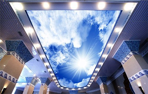 Арт-дизайн натяжных потолков — создание в любом помещении уникального дизайна