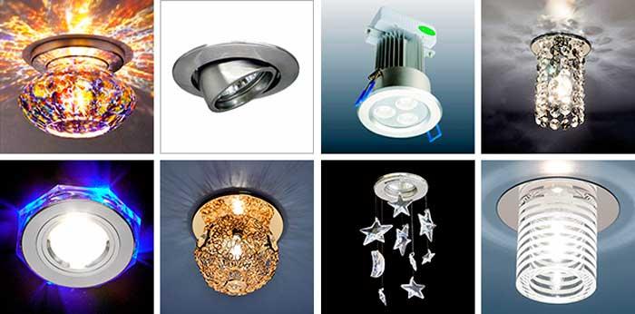 Фото: Разнообразие светильников