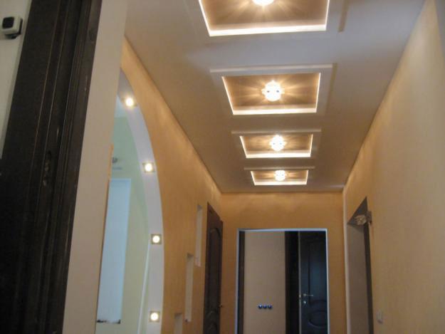 Фото: Потолок из гипсокартона