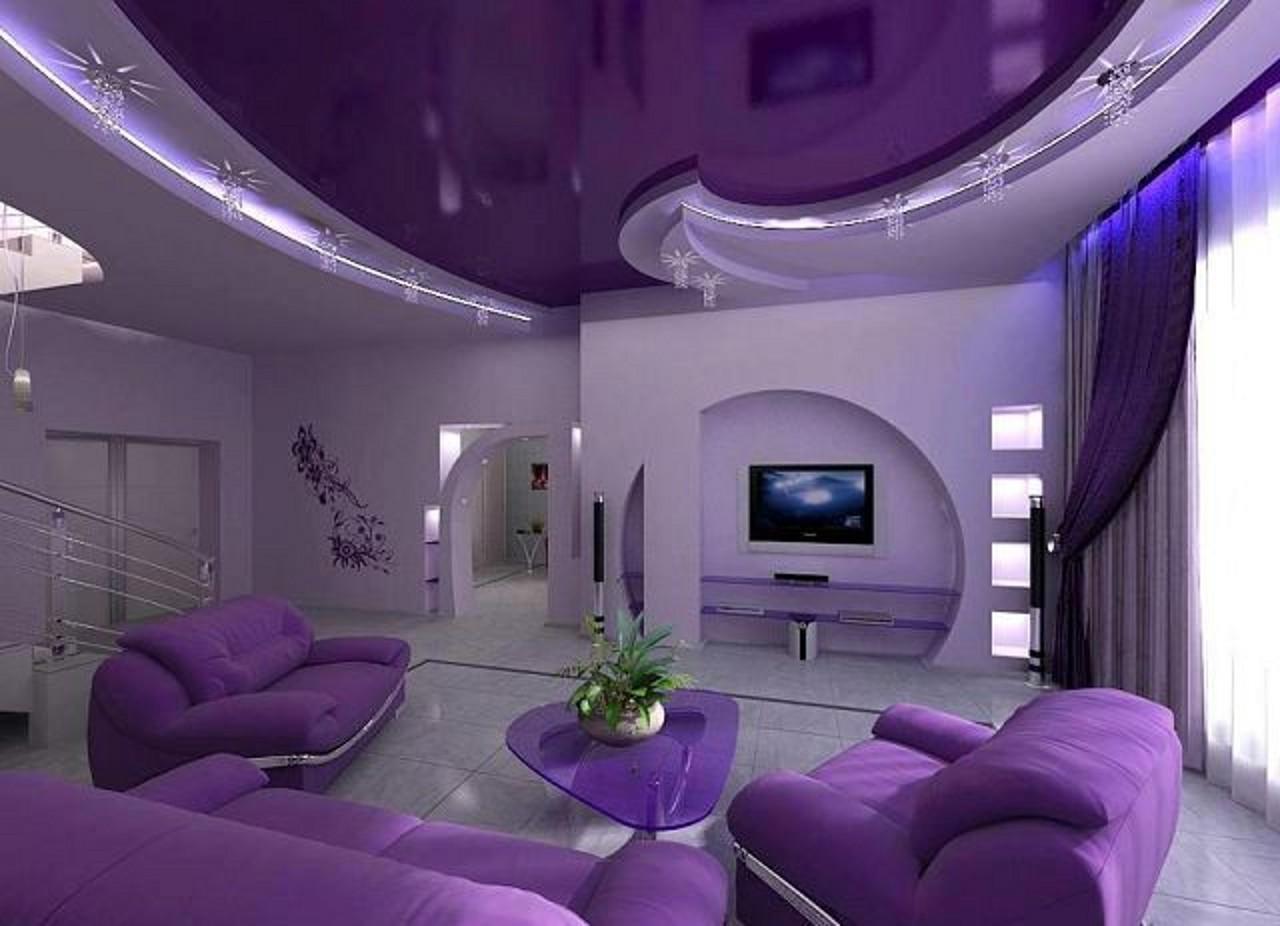Эксклюзивные натяжные потолки — создание необычного интерьера в помещении
