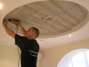 Фото: Демонтаж навесного потолка своими руками