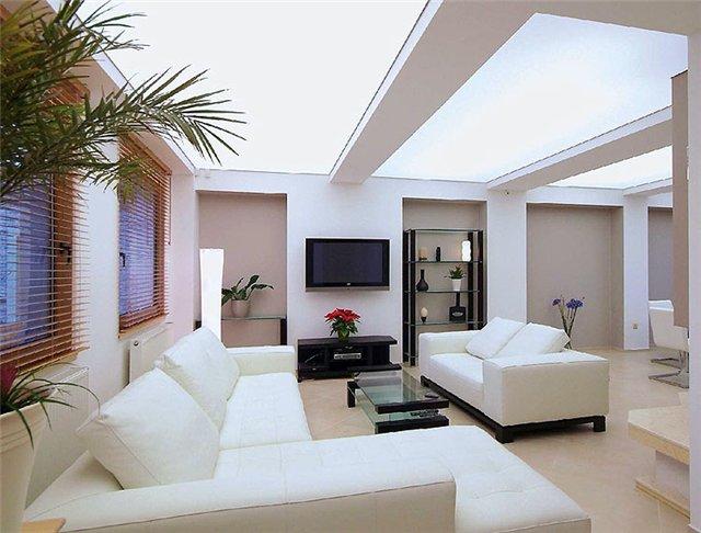 Светопрозрачные натяжные потолки — достижение совершенства интерьера