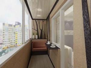 Натяжной потолок на лоджии — создание уюта и комфорта на балконе