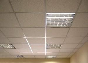 Расчет подвесного потолка «Армстронг» — как установить поверхность?