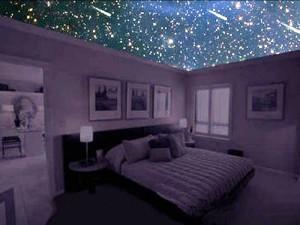 Натяжной потолок «Звездное небо» — частичка природных образов в вашем доме