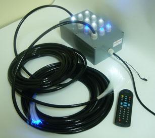 Фото: Светодиодный проектор с пультом управления