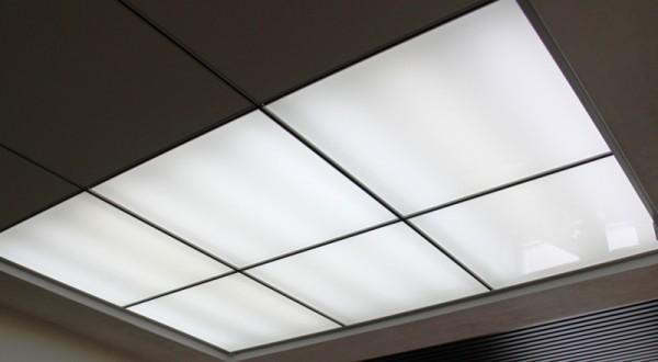 Фото: Светопропускающий потолок из оргстекла