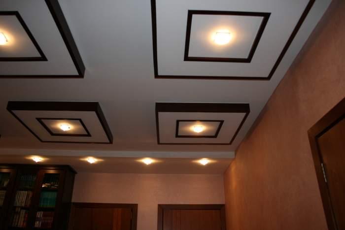 Навесные двухуровневые потолки — эффективная маскировка дефектов поверхности