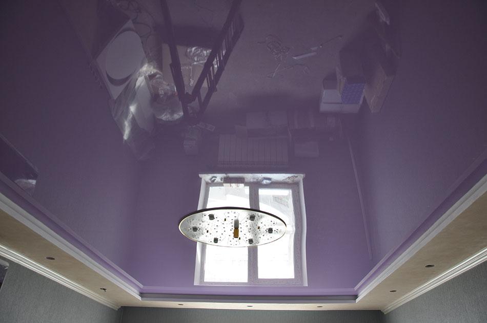 Натяжные потолки «Белый квадрат» — красивый дизайн для любого помещения