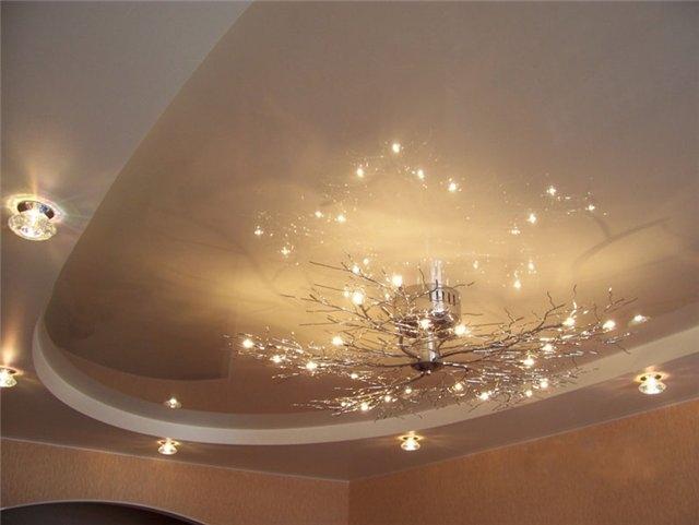 Фото: Люстры для поверхностей