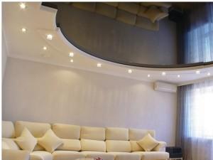 Высота подвесного потолка — какой должна быть?
