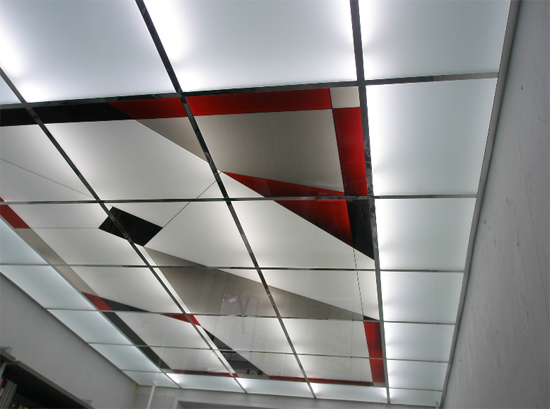 Faux plafond bois armstrong for Pose de plaque polystyrene au plafond