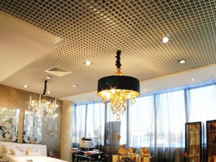 Фото: Подвесной потолок «Грильято»