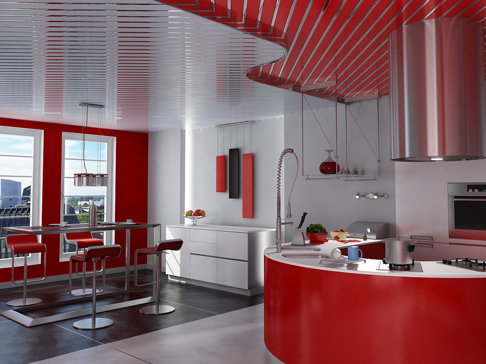 Реечный подвесной потолок — как сделать монтаж своими руками?