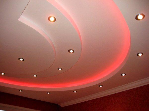 Навесные потолки — как сделать красивый дизайн?