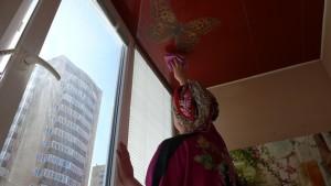 Фото: Как правильно ухаживать за потолком?