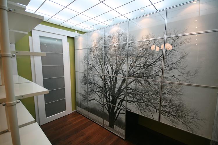 Фото: Зрительное увеличение помещения