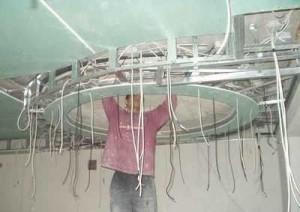 Фото: Проведение проводки