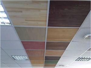 Фото: Плиты для подвесного потолка