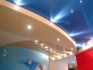 Фото: Ремонт подвесных потолков