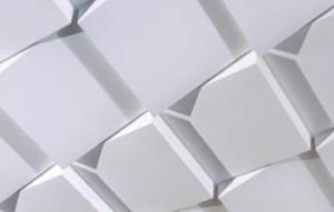 Фото: Гофрированные потолочные панели