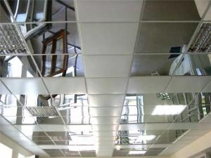 Подвесной металлический потолок — создание красоты и надежности