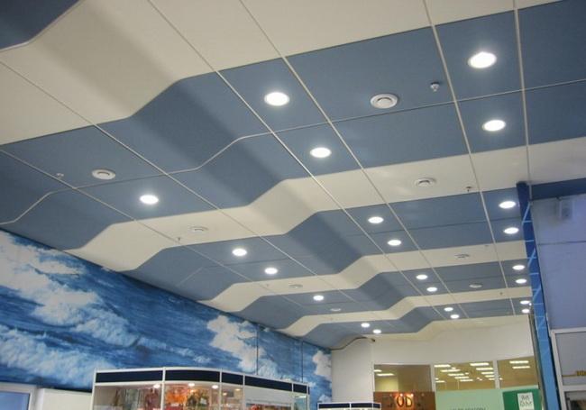 Акустический подвесной потолок: лучшая защита от шума
