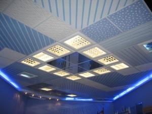 Конструкция подвесного потолка: как подобрать?